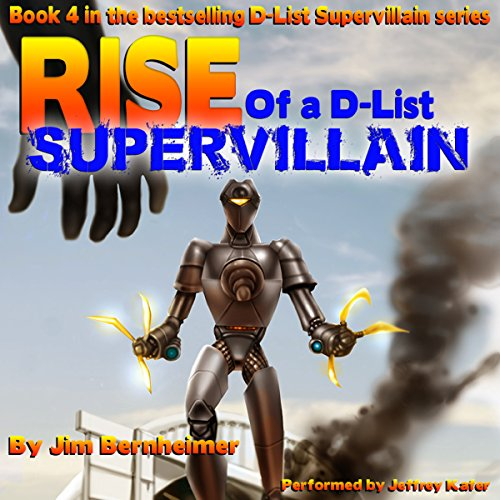 Rise of a D-List Supervillain audiobook cover art