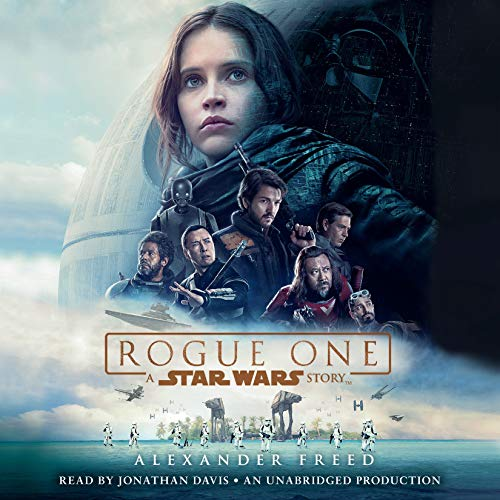 Rogue One: A Star Wars Story audiobook cover art