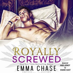 Royally Screwed audiobook cover art