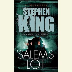 Salem's Lot audiobook cover art