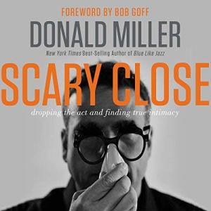 Scary Close audiobook cover art