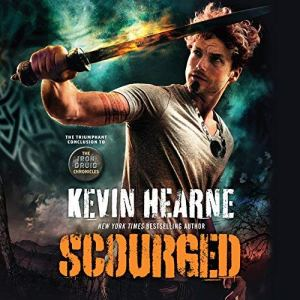 Scourged audiobook cover art