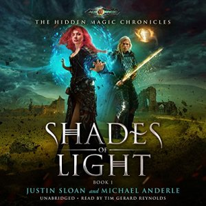 Shades of Light audiobook cover art