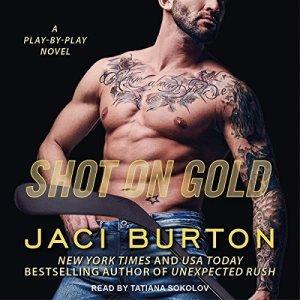 Shot on Gold audiobook cover art