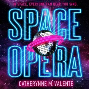 Space Opera audiobook cover art