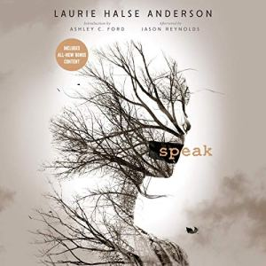 Speak audiobook cover art