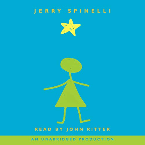 Star Girl audiobook cover art