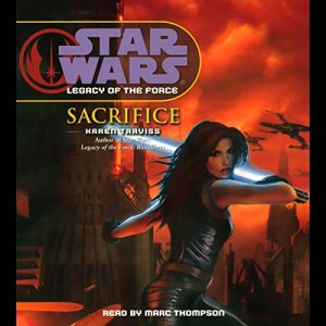 Star Wars: Legacy of the Force #5: Sacrifice audiobook cover art