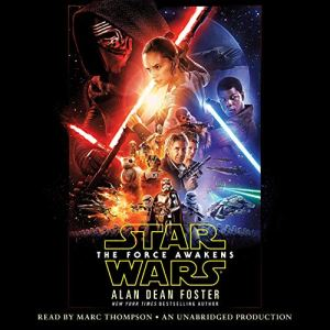 Star Wars: The Force Awakens audiobook cover art