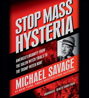 Stop Mass Hysteria audiobook cover art