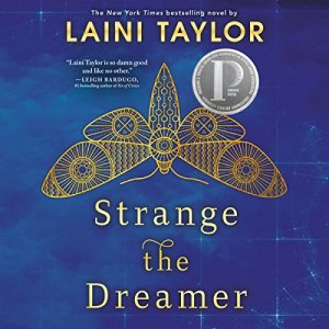 Strange the Dreamer audiobook cover art