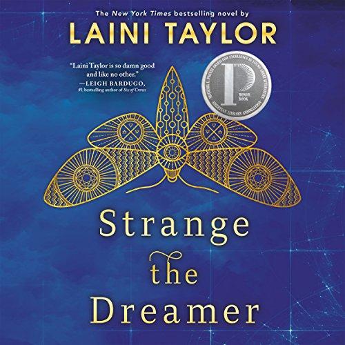 Strange the Dreamer audiobook cover art