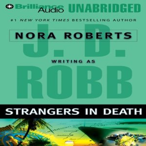 Strangers in Death audiobook cover art