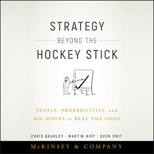 Strategy Beyond the Hockey Stick audiobook cover art