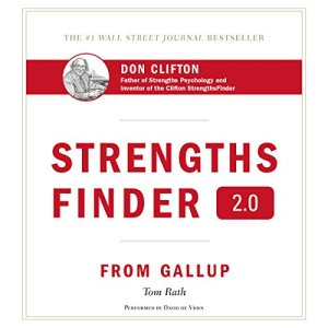 StrengthsFinder 2.0 audiobook cover art