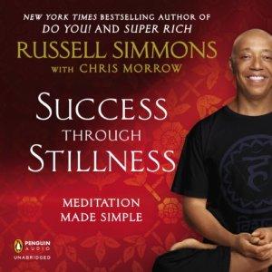 Success Through Stillness audiobook cover art