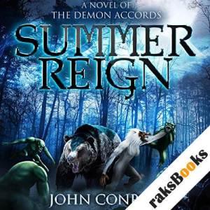 Summer Reign audiobook cover art