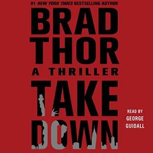 Takedown audiobook cover art