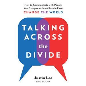 Talking Across the Divide audiobook cover art