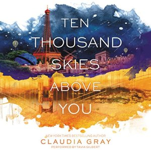 Ten Thousand Skies Above You audiobook cover art