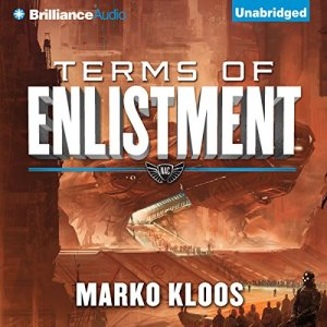 Terms of Enlistment audiobook cover art