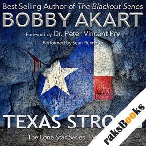 Texas Strong audiobook cover art