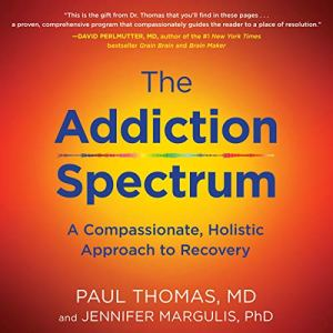 The Addiction Spectrum audiobook cover art