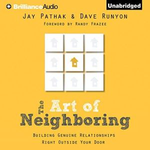 The Art of Neighboring audiobook cover art