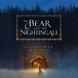 The Bear and the Nightingale audiobook cover art