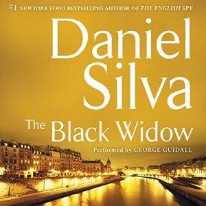 The Black Widow audiobook cover art
