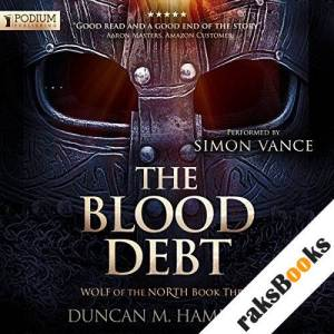 The Blood Debt audiobook cover art