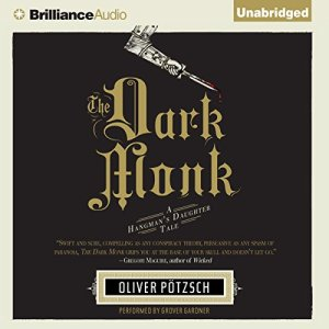 The Dark Monk audiobook cover art