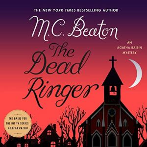 The Dead Ringer audiobook cover art