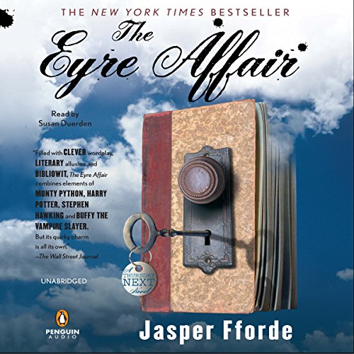 The Eyre Affair audiobook cover art