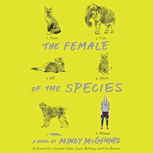 The Female of the Species audiobook cover art