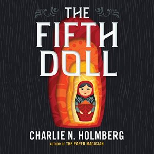 The Fifth Doll audiobook cover art