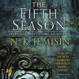 The Fifth Season audiobook cover art