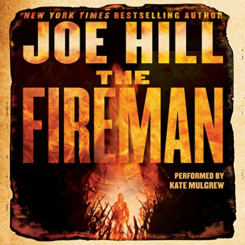 The Fireman audiobook cover art