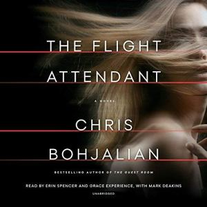 The Flight Attendant audiobook cover art