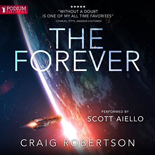 The Forever audiobook cover art