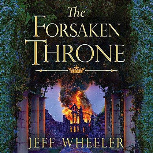 The Forsaken Throne audiobook cover art
