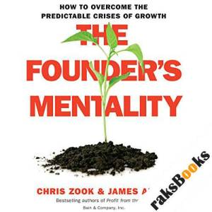 The Founder's Mentality audiobook cover art
