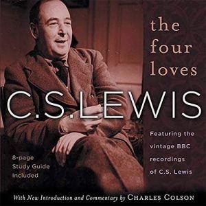 The Four Loves audiobook cover art