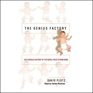 The Genius Factory audiobook cover art