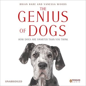 The Genius of Dogs audiobook cover art