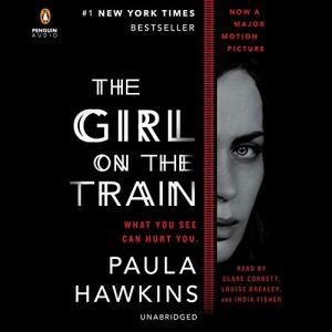 The Girl on the Train audiobook cover art