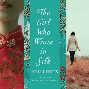 The Girl Who Wrote in Silk audiobook cover art