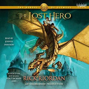 The Heroes of Olympus, Book One: The Lost Hero audiobook cover art