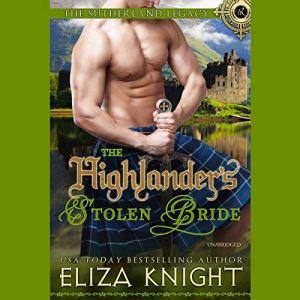 The Highlander's Stolen Bride audiobook cover art