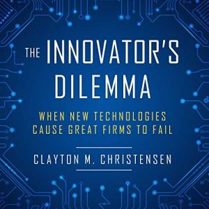 The Innovator's Dilemma audiobook cover art